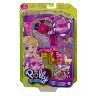 Obrázek 1 produktu Polly Pocket Pidi svět do kapsy Farma, Mattel GTN16