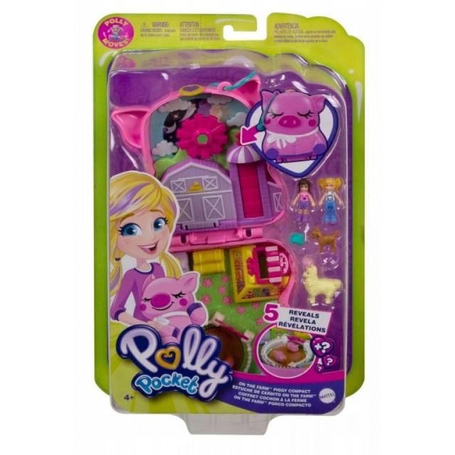 Obrázek produktu Polly Pocket Pidi svět do kapsy Farma, Mattel GTN16