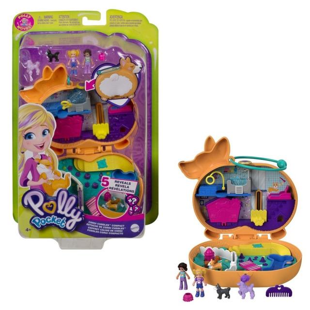 Obrázek produktu Polly Pocket Pidi svět do kapsy Pejsek, Mattel GTN13
