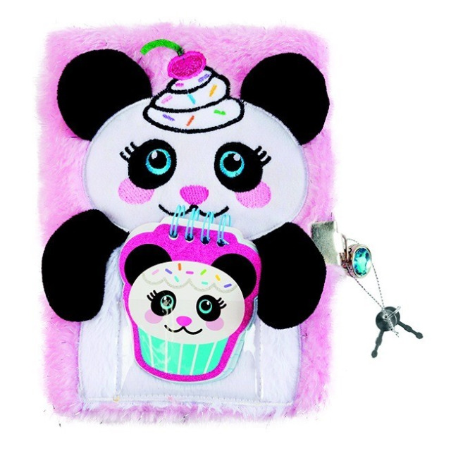 Obrázek produktu Make It Real Tajný deník chlupatý Panda