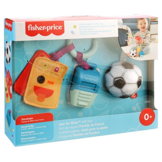Obrázek produktu Fisher Price Dárkový set pro malé fotbalisty, Mattel GRT94