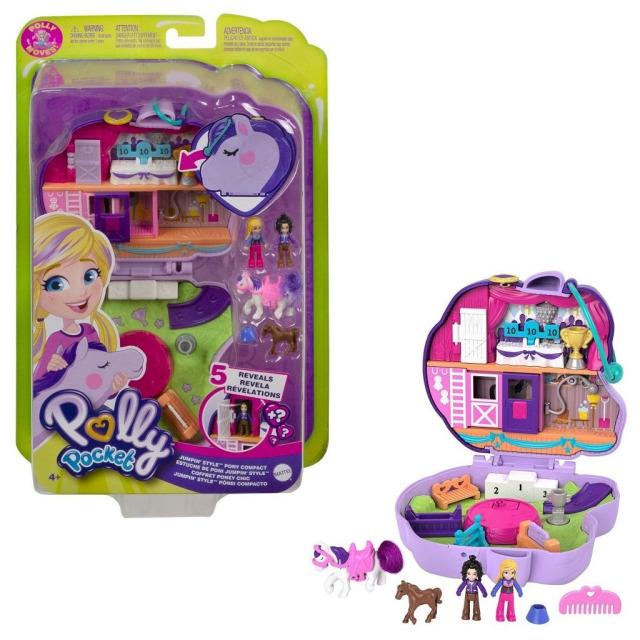 Obrázek produktu Polly Pocket Pidi svět do kapsy Parkur, Mattel GTN14