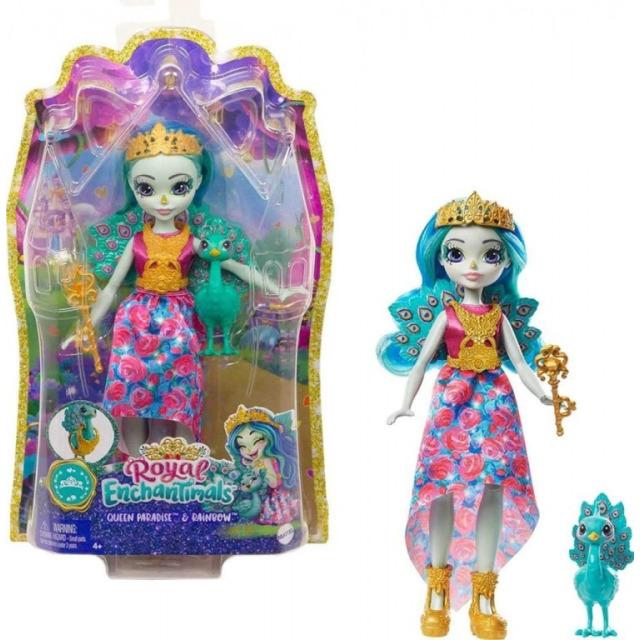 Obrázek produktu ENCHANTIMALS ROYAL Queen Paradise & Rainbow, Mattel GYJ14