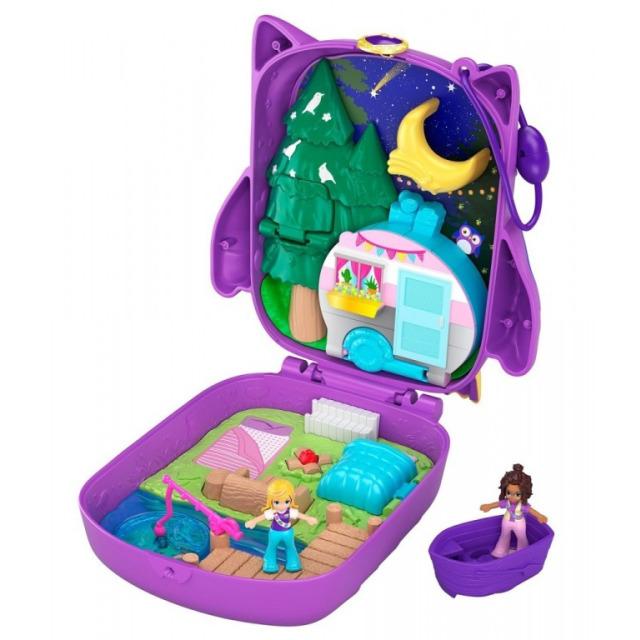 Obrázek produktu Polly Pocket Mikro Kempování se sovičkou, Mattel GKJ47/FRY35