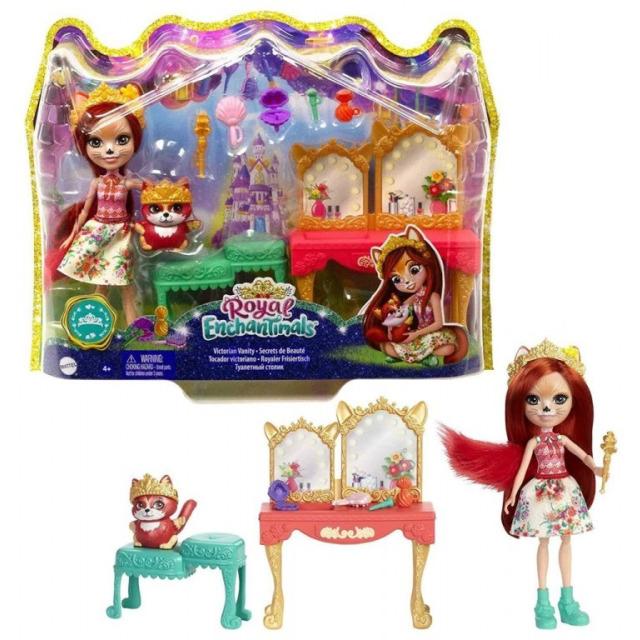 Obrázek produktu ENCHANTIMALS ROYAL Toaletní stolek Felicity Fox, Mattel GYJ05