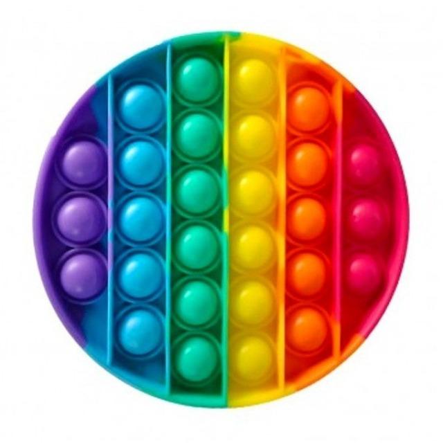 Obrázek produktu Bubble pops Praskající bubliny silikon KRUH
