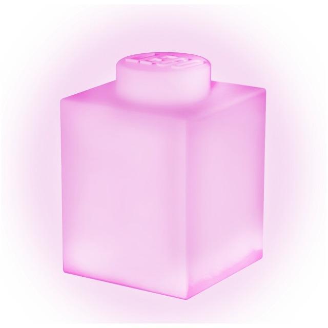 Obrázek produktu LEGO Classic Silikonová kostka noční světlo - růžová