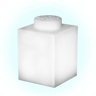 Obrázek 1 produktu LEGO Classic Silikonová kostka noční světlo - bílá