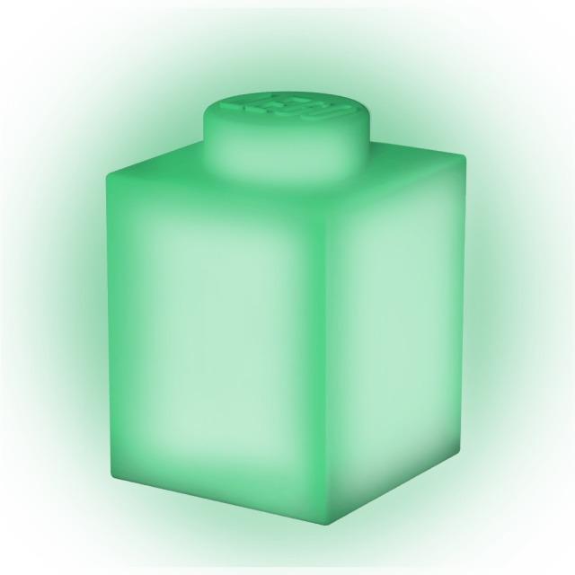 Obrázek produktu LEGO Classic Silikonová kostka noční světlo - zelená
