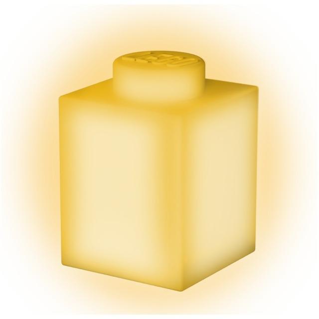 Obrázek produktu LEGO Classic Silikonová kostka noční světlo - žlutá
