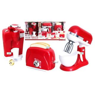 Obrázek 1 produktu PlayGo 38316 Moje první sada ruční mixér kávovar a toustovač