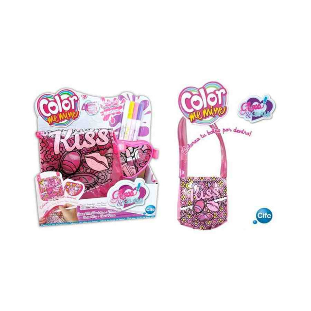 Obrázek produktu Kabelka přes rameno + peněženka Color me mine KISS