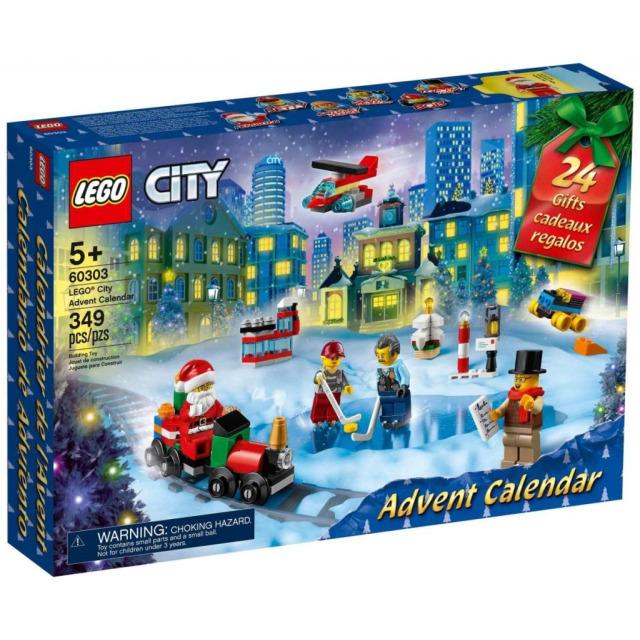 Obrázek produktu LEGO City 60303 Adventní kalendář