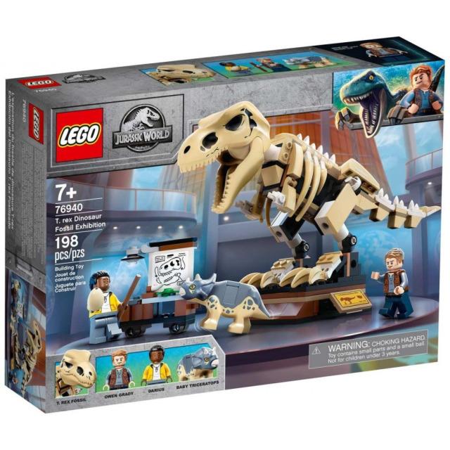 Obrázek produktu LEGO Jurassic World 76940 Výstava fosílií T-rexe