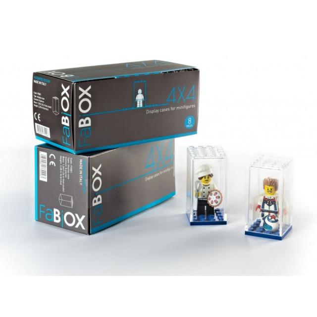 Obrázek produktu Fabiox Sběratelský box na LEGO minifigurky - 4x4 - 8ks