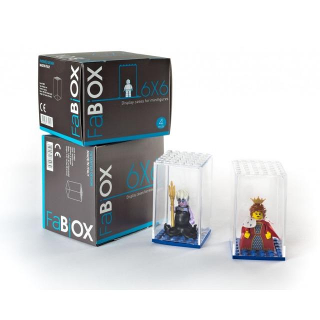 Obrázek produktu Fabiox Sběratelský box na LEGO minifigurky - 6x6 - 4ks