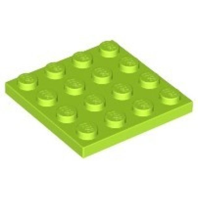 Obrázek produktu LEGO 3031 Podložka 4x4 Limetkově zelená