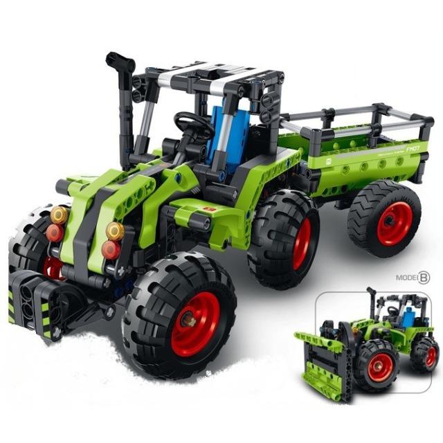 Obrázek produktu Tech Bricks 6807 Mechanical Master Traktor 346 dílků