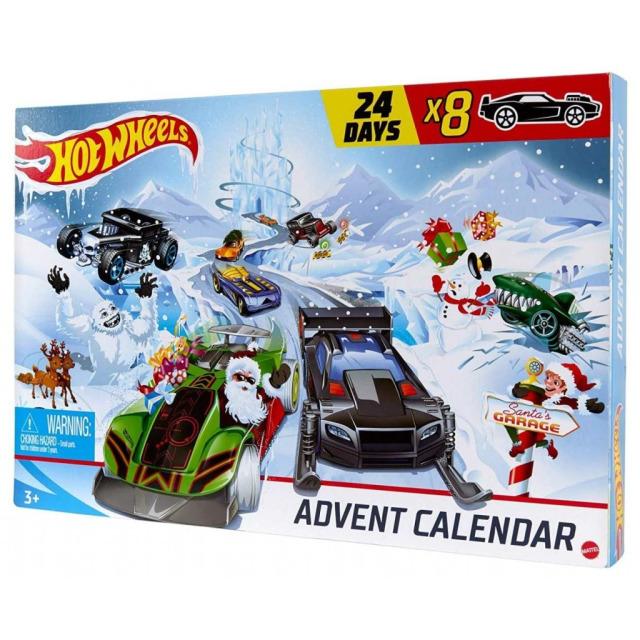 Obrázek produktu Mattel Hot Wheels Adventní kalendář, GJK02