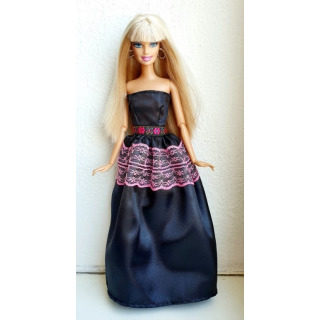 Obrázek 1 produktu LOVEDOLLS Černé saténové šaty