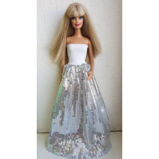 Obrázek 1 produktu LOVEDOLLS Stříbrné flitrové šaty