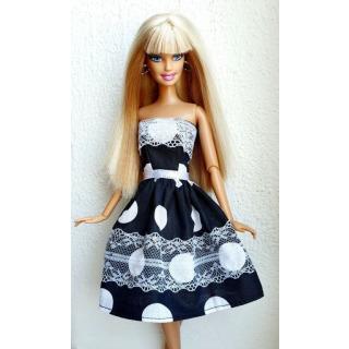 Obrázek 1 produktu LOVEDOLLS Černobíle midi šaty