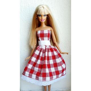 Obrázek 1 produktu LOVEDOLLS Kostkované červenobílé šaty