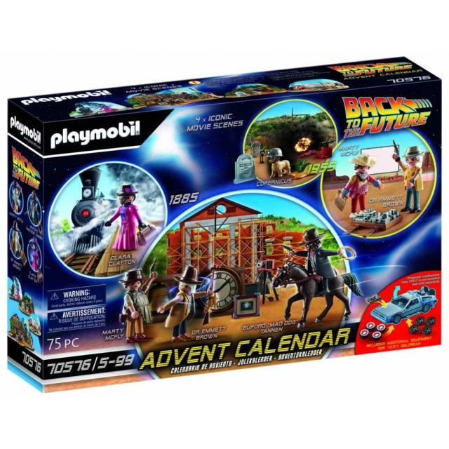 Obrázek produktu Playmobil 70576 Adventní kalendář Back to the Future III