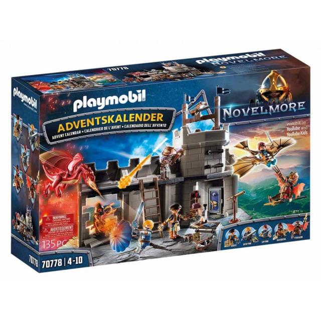 Obrázek produktu Playmobil 70778 Adventní kalendář Novelmore Dariova dílna