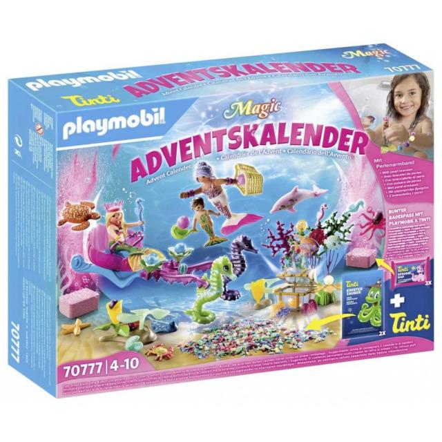 Obrázek produktu Playmobil 70777 Adventní kalendář Zábava ve vodě - Mořské panny