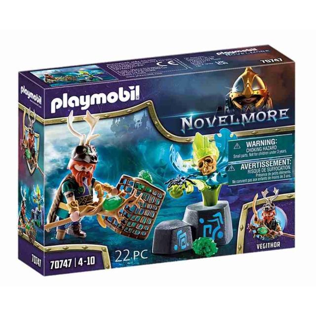 Obrázek produktu Playmobil 70747 Novelmore violet Vale Čaroděj rostlin