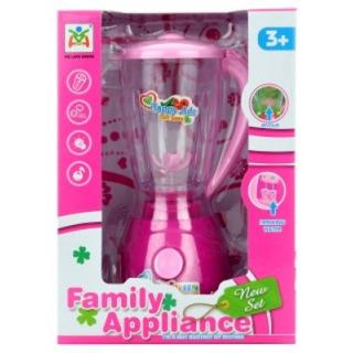 Obrázek 1 produktu Dětský mixér na baterie růžový, světlo, zvuk