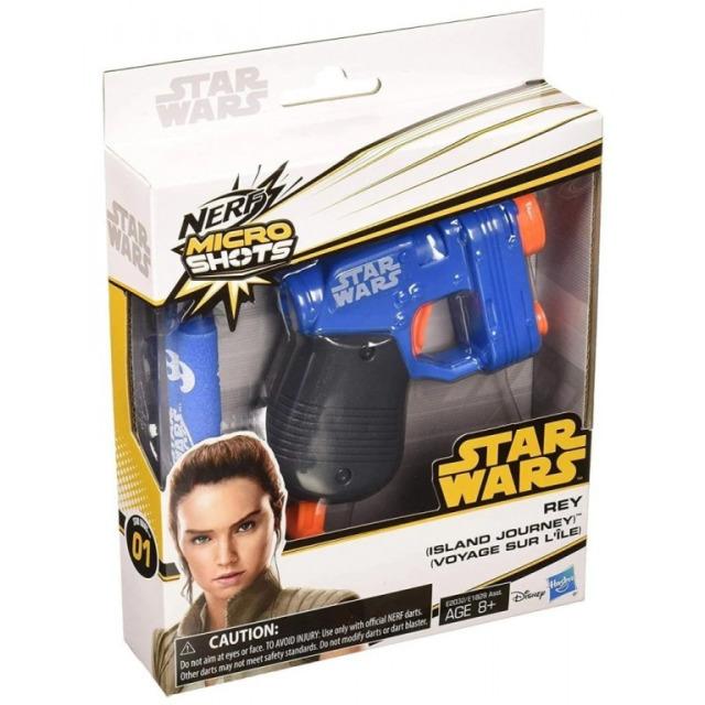 Obrázek produktu Hasbro NERF Microshots STAR WARS Rey, E2032