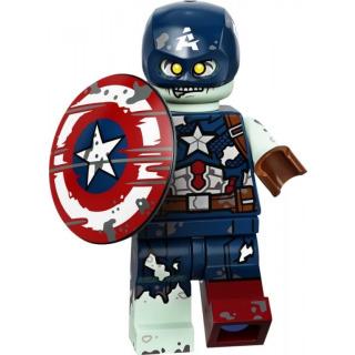 Obrázek 1 produktu LEGO 71031 Minifigurka Studio Marvel Zombie Captain America
