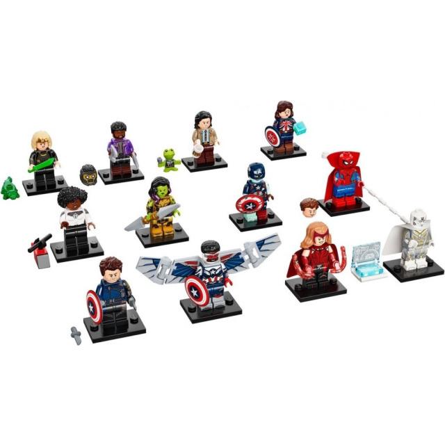 Obrázek produktu LEGO 71031 Ucelená kolekce 12 minifigurek Studio Marvel
