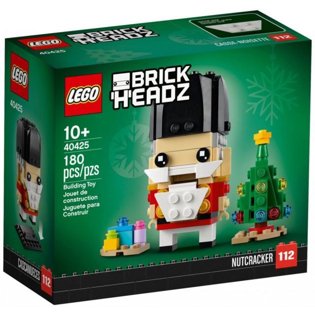 Obrázek produktu LEGO BrickHeadz 40425 Louskáček