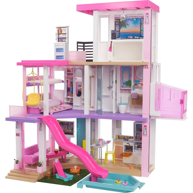 Obrázek produktu Mattel Barbie Dům snů se světly a zvuky, GRG93