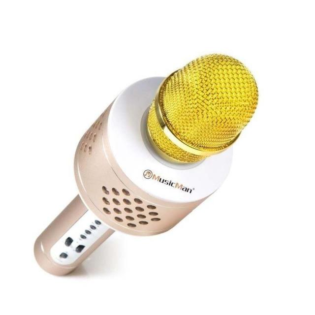 Obrázek produktu Technaxx BT X35 PRO Bluetooth karaoke mikrofon zlatý