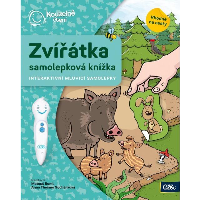 Obrázek produktu Albi Kouzelné čtení Samolepková knížka zvířátka
