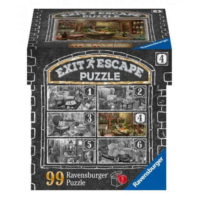 Obrázek produktu Ravensburger 16880 Exit Puzzle: Vinný sklep 99 dílků