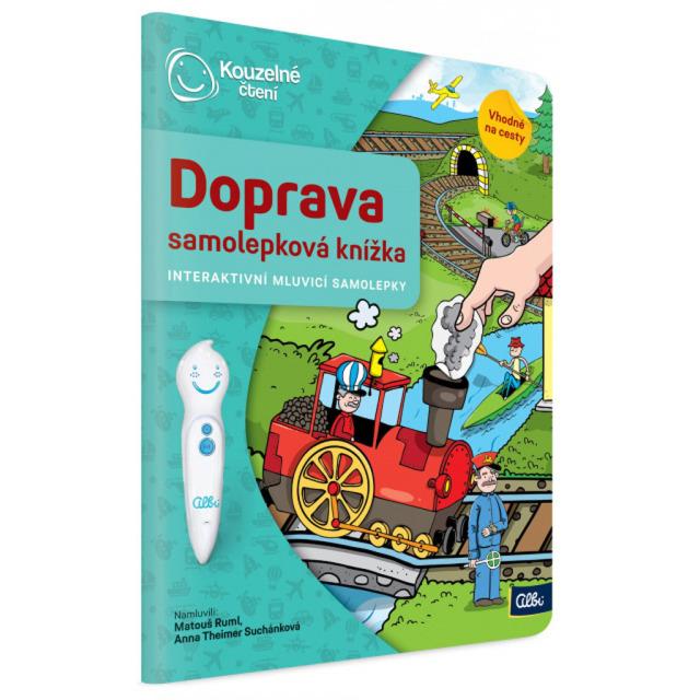 Obrázek produktu Albi Kouzelné čtení Samolepková knížka doprava
