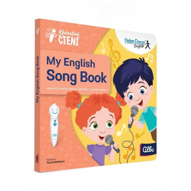 Obrázek produktu Albi Kouzelné čtení My English Song Book