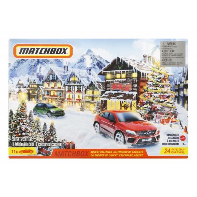 Obrázek produktu Matchbox Adventní kalendář, Mattel GXH01