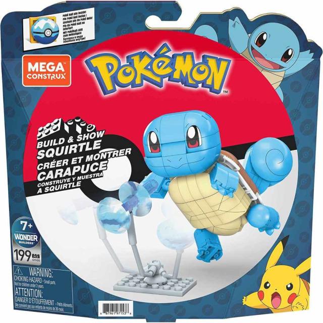 Obrázek produktu Mega Construx Pokémon Squirtle, Mattel GYH00