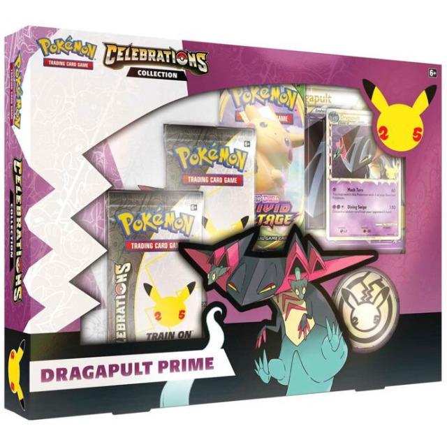 Obrázek produktu Pokémon TCG: Celebrations - Dragapult Prime Collection Box karetní hra