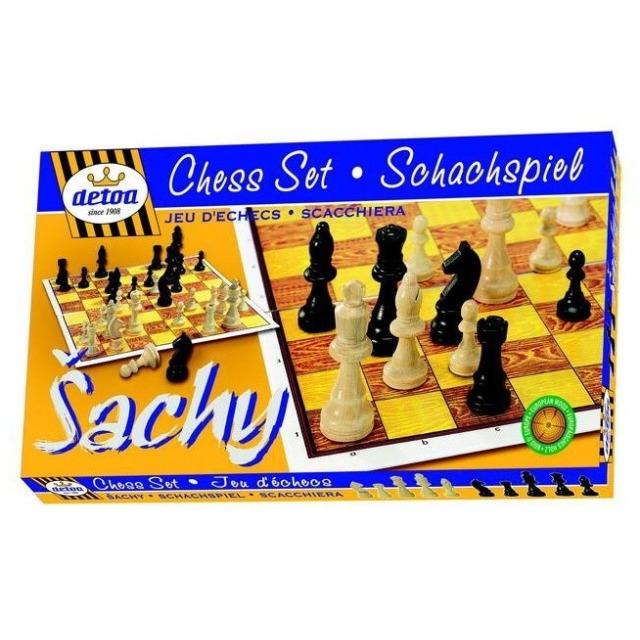 Obrázek produktu Šachy dřevěné STEUTON 35x35 cm