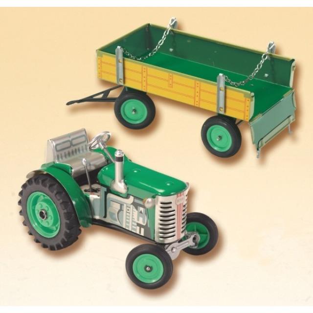Obrázek produktu KOVAP Traktor Zetor a valník zelený