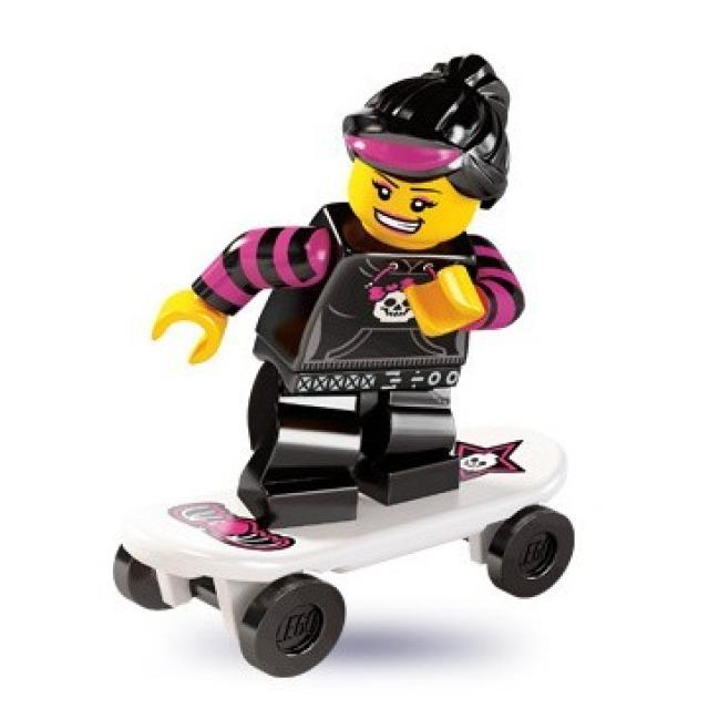 Obrázek produktu LEGO 8827 Minifigurka Skejťačka