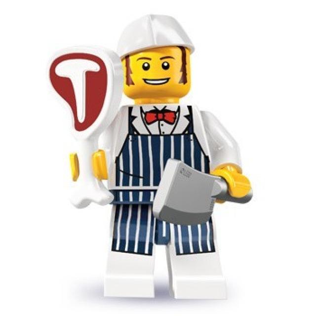 Obrázek produktu LEGO 8827 Minifigurka Řezník