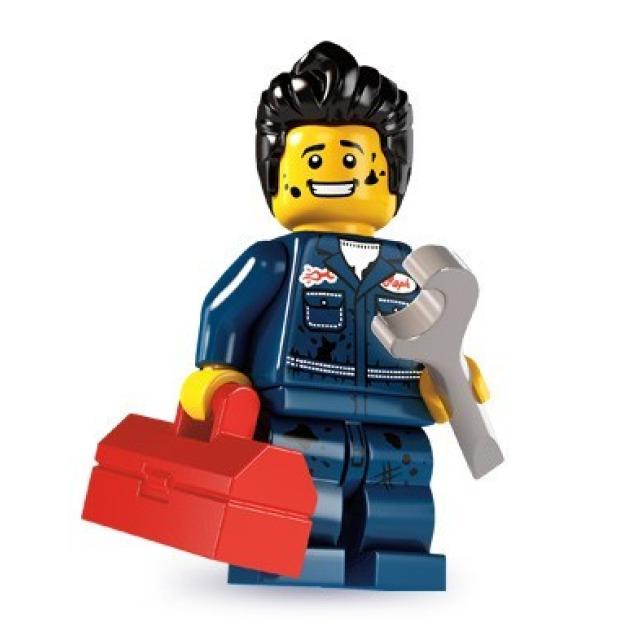 Obrázek produktu LEGO 8827 Minifigurka Mechanik